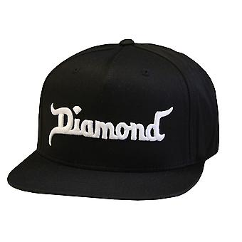 Diamond Supply Co kung Snapback Black