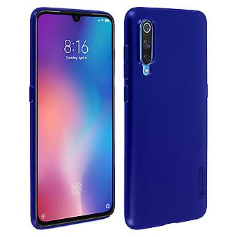 Frosted Shield Nillkin Set: Cover + stand video for Xiaomi Mi 9 - Dark Blue