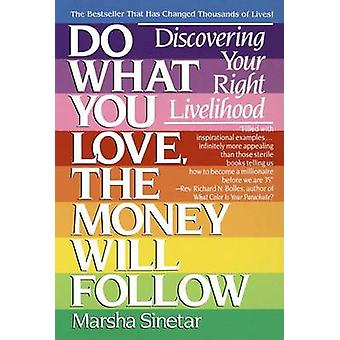 Do What You Love - the Money Will Follow - Choosing Your Right Livelih