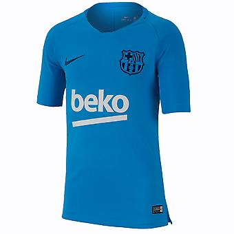 2018-2019 Barcelona Nike Training Shirt (Equator Blue) - Kids