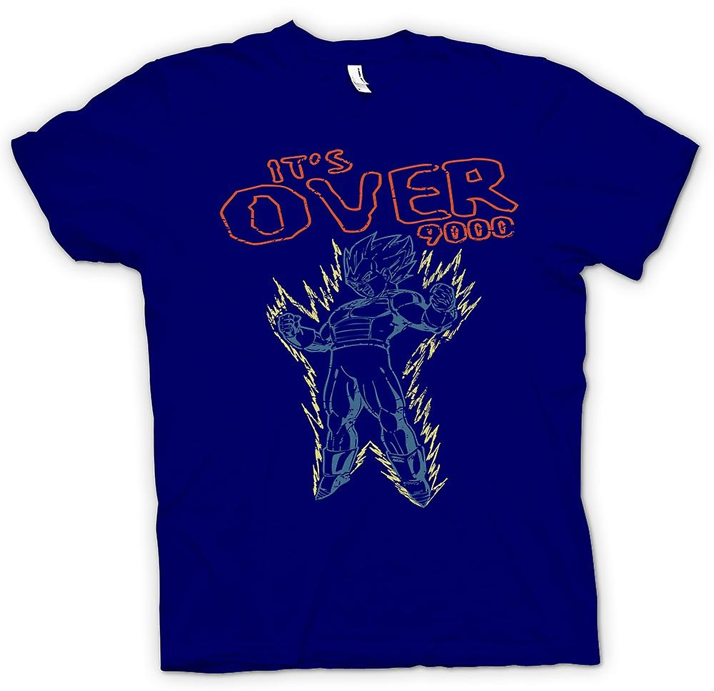 Mens T-shirt - Its Over 9000 - Dragonball - Super Saiyan
