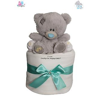 Me to You® Tiny Tatty Ted Nappy Cake Baby Gift (mini)