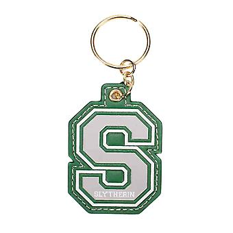 Harry Potter Keyring Keychain S For Slytherin varsity Logo nouveau officiel