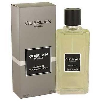 Guerlain Homme L'eau Boisee By Guerlain Eau De Toilette Spray 3.3 Oz (men) V728-538868
