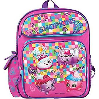 Small Backpack - Shopkins - Best Friends Forever Pink New 428531