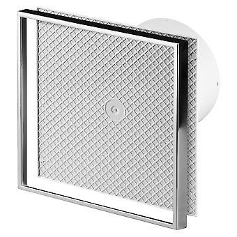125mm Extractor fan aangepaste Cermaic tegel binnen veranderlijk front paneel