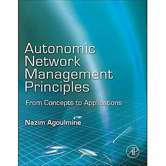 Autonomic Network Management Principles: From Concepts to Applications