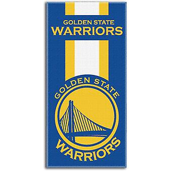 Northwest NBA beach towel ZONE Golden State Warriors 76x152cm