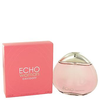 Echo by Davidoff Eau De Parfum Spray 3.4 oz / 100 ml (Women)