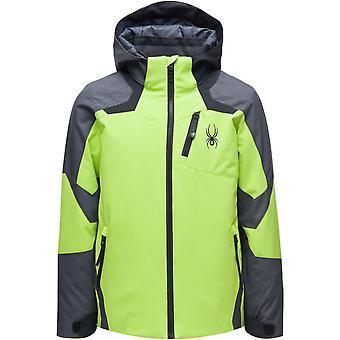 Spyder LEADER Jungen Repreve PrimaLoft Ski Jacke lime