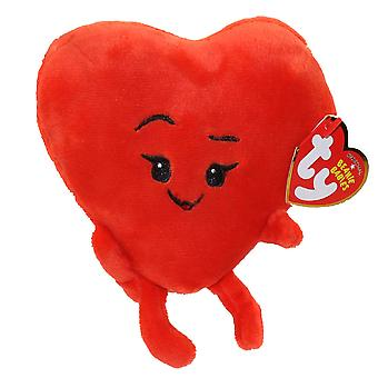 TY Baby Beanies Emoji Heart Gosedjur Plysch Hjärtan