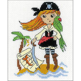 Treasure Island Counted Cross Stitch Kit-5