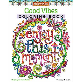 Design Originals-Good Vibes Coloring Book FOX-5530