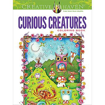 Dover Publications-Creative Haven Curious Creatures DOV-49269