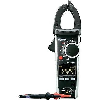 Gjeldende klemme, håndholdte multimeter digital VOLTCRAFT VC590 OLED Calibrated til: ISO-standarder OLED vise CAT III 600 V,