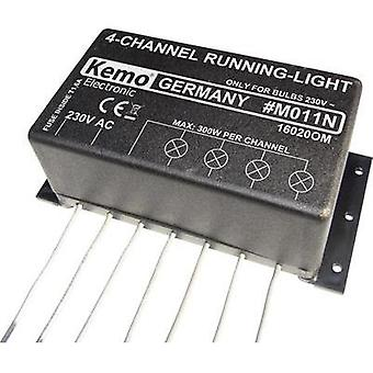 Chaser light assembly kit Kemo M011N Version: Component 230 Vac