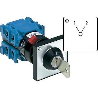 Changeover switch 20 A 1 x 60 ° Grey, Black Kraus & Naimer CH10 A220-600 *FT2 V750D/3J 1 pc(s)