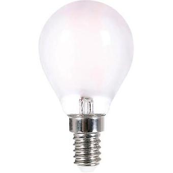 LED (monochrome) LightMe 230 V E14 2.5 W = 25 W Warm white EEC: A++ Droplet (Ø x L) 45 mm x 80 mm Filament 1 pc(s)