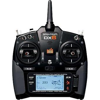 Spektrum DX6 Handheld RC 2,4 GHz No. of channels: 6