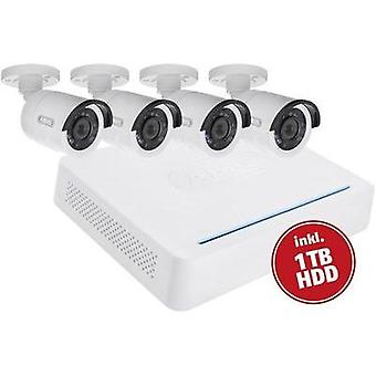 Video CCTV system ABUS 8-channel incl. 4 cameras 1 TB TVVR33408