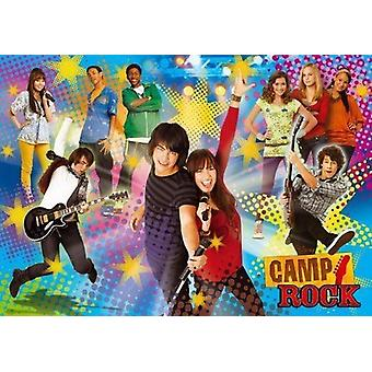 Clementoni Puzzle 104 P.camp Rock-Start The Party- Jonas Brothers