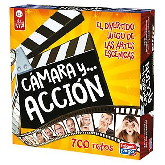 Falomir Juego Camara Y Accion (Kids , Toys , Table Games , Memory Games)