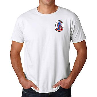 USMC Marines VMM-365 Blue Knights - Ringspun Cotton T Shirt