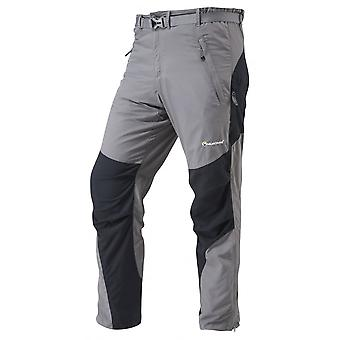 Montane Mens Terra Pants Regular Leg Graphite (Large)