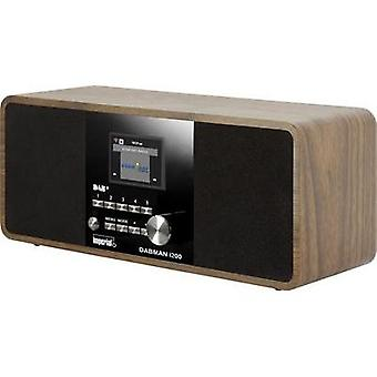 Internet Table top radio Imperial DABMAN i200 AUX, DAB+, Internet radio, FM, USB Wood