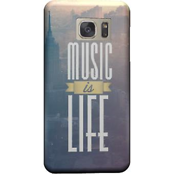 Music is life cover for Galaxy S6