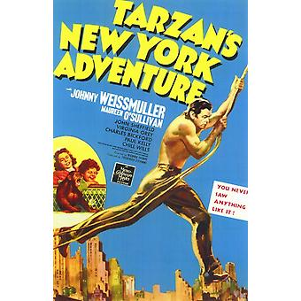 Tarzans New York Adventure filmposter (11 x 17)