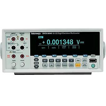 Bench multimeter digital Tektronix DMM4040 Calibrated to: Manufacturer standards CAT II 600 V Display (counts): 200000