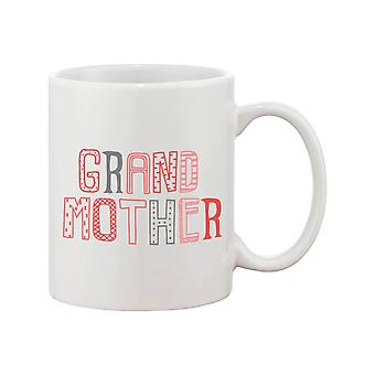 Cute Grandma 11oz Mug - Coffee Mug for Grandmother - Mother's Day Gift, Grandparents Day Gift, Never Runs Out of Hugs