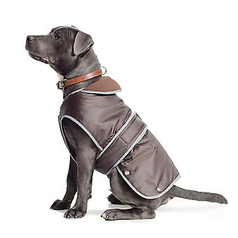 Muddy Paws Stormguard Coat & Chest Protector Chocolate Large