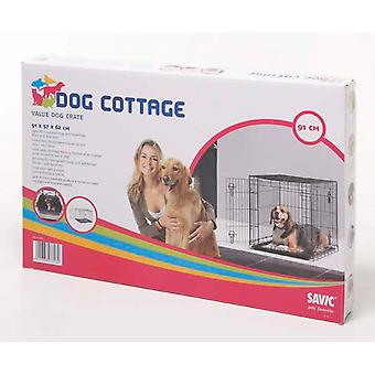 Dog Cottage Crate 91x57x62cm