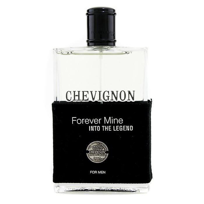 Mina de Chevignon para siempre en la leyenda para Men Eau De Toilette Spray 100ml / 3.33 oz