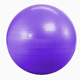 Kabalo Purple 65cm ANTI BURST GYM EXERCISE SWISS YOGA FITNESS BALL for PREGNANCY BIRTHING, etc (including pump)