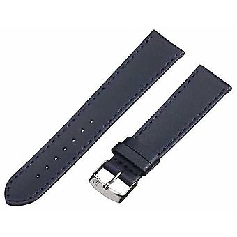 Morellato Strap Only - Sprint Napa Leather Dark Blue 18mm A01X2619875062CR18 Watch