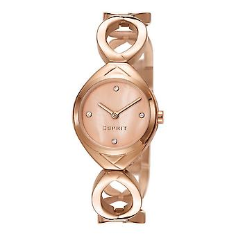 ESPRIT ladies watch bracelet watch Audrey stainless steel Rosé ES108072003