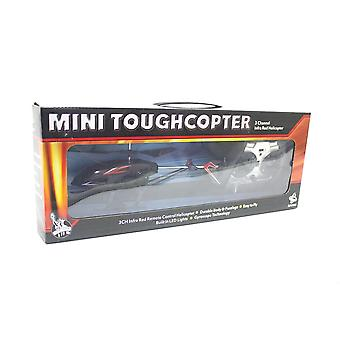 Mini Toughcopter 3 Channel Infrared Helicopter Radio Remote Controlled Flying Toy Gift
