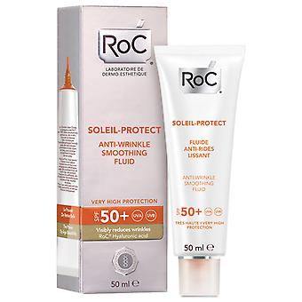 Roc Soleil Protect 50+ Anti-Wrinkle Fluid 50 ml (Cosmetics , Body  , Sun protection)