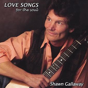 Shawn Gallaway - Love Songs for the Soul [CD] USA import