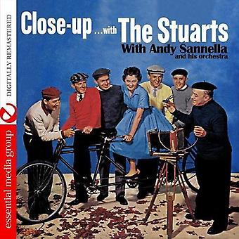 Stuarts - Close Upa with the Stuarts [CD] USA import