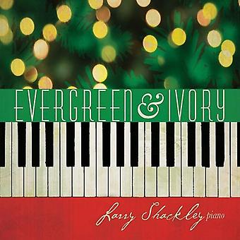 Larry Shackley - Evergreen & ivoor [CD] USA import