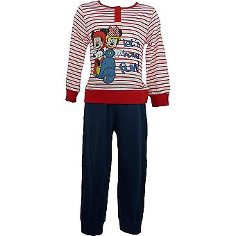 Disney Minnie Mouse Girls Long Sleeve Pyjamas ME2092