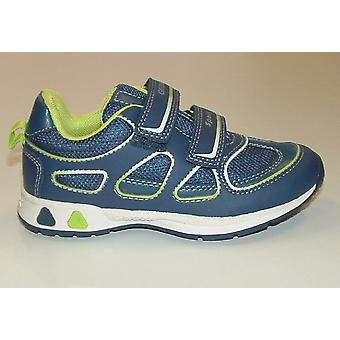 Geox Boys Teppei Trainers Navy Blue
