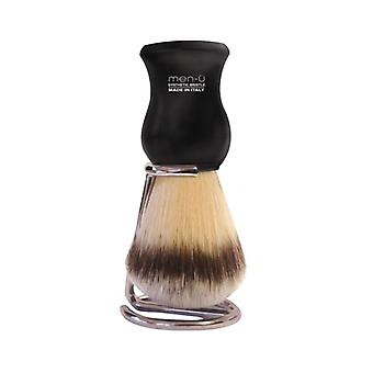 Men-U Premier Black Shaving Brush & Stand