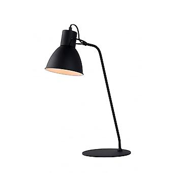 Lucide SHADI Desk Lamp E14 H50cm Black