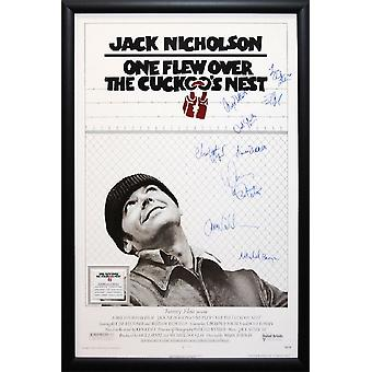 One Flew Over the Cuckoo's Nest - Signed Movie Poster