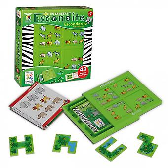 Smart Games Jungle hideout (Toys , Boardgames , Logic And Ingenuity)